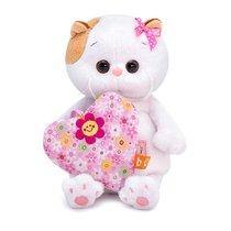Мягкая игрушка BUDI BASA LB-047 Ли-Ли BABY с сердечком 20 см - Буди Баса