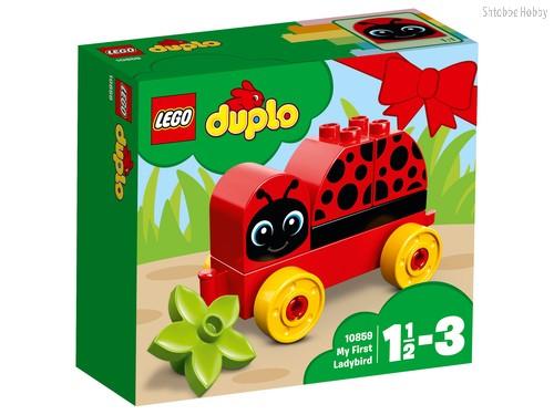 Конструктор LEGO 10859 Duplo My First Моя первая божья коровка - Lego