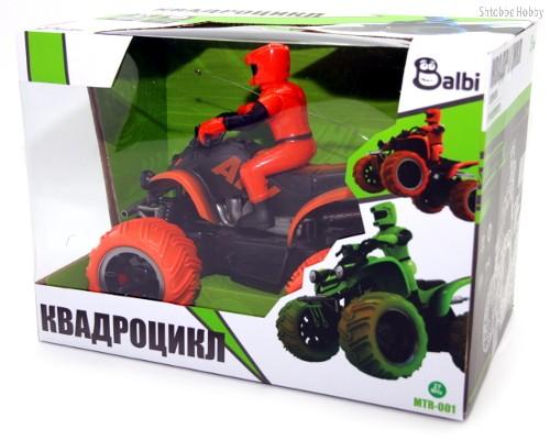Машина на РУ BALBI MTR-001-О Квадроцикл оранжевый - Balbi