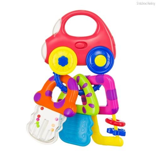 Погремушка BABY CAR KEYS - Happy Baby