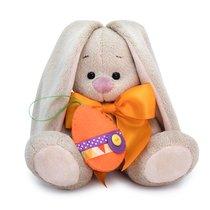 Мягкая игрушка BUDI BASA SidX-369 Зайка Ми с оранжевым бантиком 15см - Буди Баса