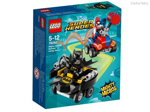 Конструктор LEGO 76092 Super Heroes Mighty Micros: Бэтмен против Харли Квин - Lego