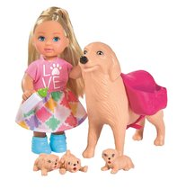 Кукла EVI 5733072 с собачкой и щенками - Evi Love