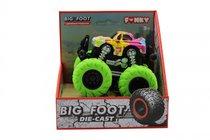 Машина пластиковая FUNKY TOYS FT61041 гоночная die-cast, 4*4, зеленые колеса - Funky Toys