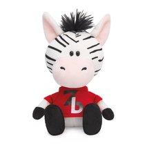 Мягкая игрушка BUDI BASA SA15-60 Зебрёнок Зиба в красной футболке - Буди Баса