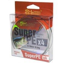 Леска плетеная Rubicon Super PE 4x 0,35мм 135м Gray 490135GY-035 - Rubicon
