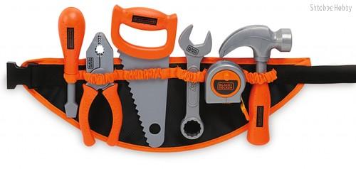 Игровой набор SMOBY 360107 Поясной ремень с инструментами Black&Decker - smoby
