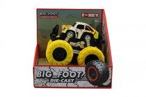 Машина пластиковая FUNKY TOYS FT61042 гоночная die-cast, 4*4, желтые колеса
