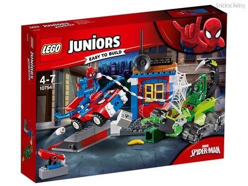 Конструктор LEGO 10754 Juniors Решающий бой Человека-паука против Скорпиона - Lego