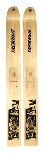 Лыжи Таежные Маяк деревянные 175*18 см - Маяк
