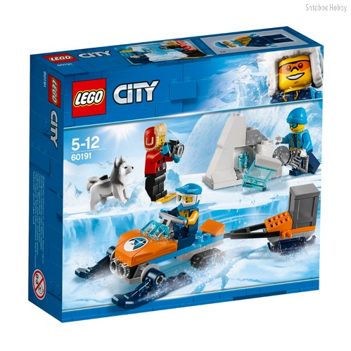 Конструктор City Arctic Expedition Полярные исследователи - Lego