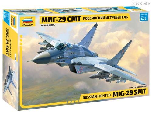 Модель для склеивания ZVEZDA 7309 Самолет МиГ-29 СМТ - Zvezda