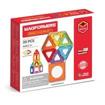 Магнитный конструктор MAGFORMERS 715014 Basic Plus 26 Set - Magformers