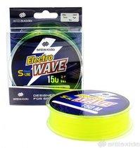 Леска Shii Saido Electro wave, 150 м, 0,286 мм, до 6,01 кг, желтая SSE150-0,286 - Shii Saido