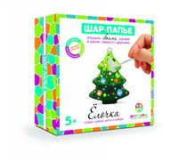 Набор для творчества ШАР-ПАПЬЕ В02533 Елочка в коробке со стразами - Шар-Папье
