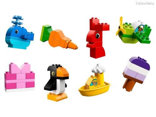 Конструктор Duplo My First Весёлые кубики - Lego