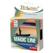 Леска Rubicon Magic Line 0,16мм 150м Multicolor 406150-016 - Rubicon