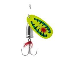 Блесна Premier Fishing Gidra №4, 12г. Hot Tiger с мухой PR-SPRH12HT-4, 12 г - Тонар