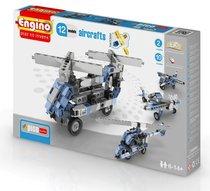 """Конструктор """"PICO BUILDS/INVENTOR. Самолеты"""", 12 моделей - Engino"""