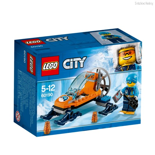Конструктор City Arctic Expedition Аэросани - Lego