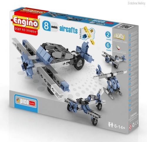 """Конструктор """"PICO BUILDS/INVENTOR. Самолеты"""", 8 моделей - Engino"""