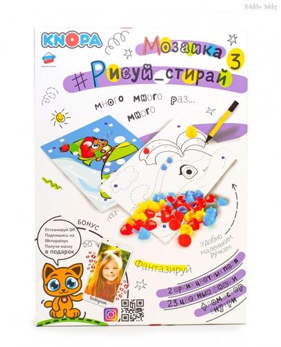 Мозаика KNOPA 87067 Рисуй, стирай - Knopa