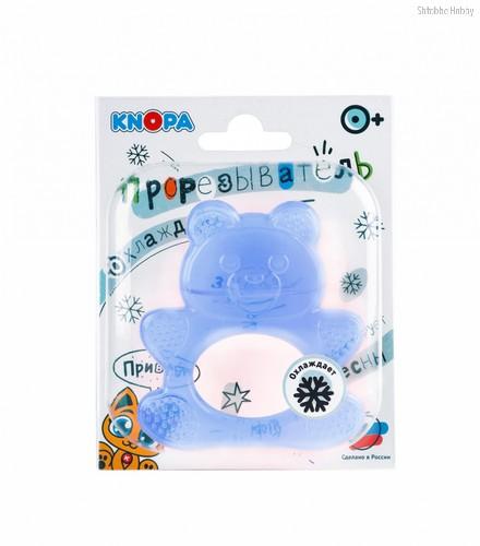 Прорезыватель KNOPA 80029 Мишка, синий - Knopa