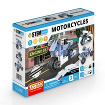 Конструктор ENGINO STH22 STEM Heroes. Набор из 3 моделей. Мотоциклы - Engino