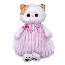 Мягкая игрушка BUDI BASA LK27-053 Ли-Ли в платье с бабочками 27 см