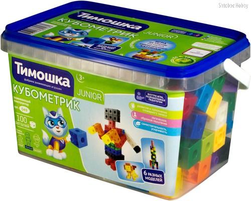 Конструктор ТИМОШКА 49 Кубометрик 100 деталей - Тимошка