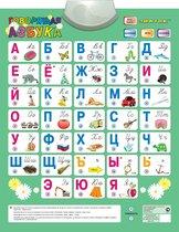 Электронный звуковой плакат ЗНАТОК PL-02-RU Говорящая азбука (обр. 2006г.) (4 режимные кнопки) - Знаток