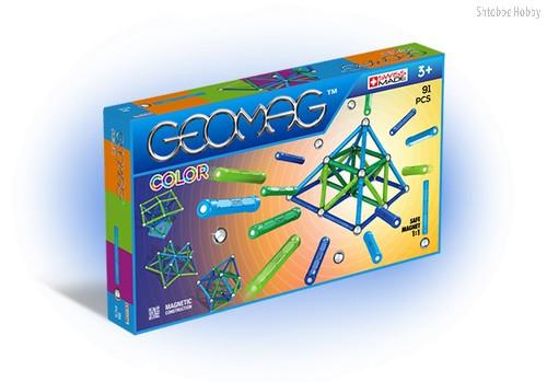Магнитный конструктор GEOMAG 263 Color 91 деталь - Geomag