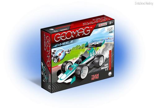 Магнитный конструктор GEOMAG 711 Машина гоночная зеленая - Geomag