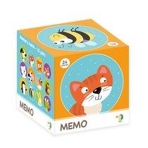Настольная игра DODO 300145 Мемори животные - Dodo