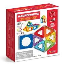 Магнитный конструктор MAGFORMERS 715013 Basic Plus 14 set