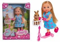 Кукла EVI 5733338 на самокате с кроликом - Evi Love