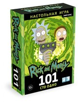 Настольная игра ORIGAMI 5303 Рик и Морти