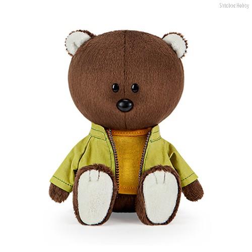 Мягкая игрушка BUDI BASA LE15-072 Медведь Федот в оранжевой майке и курточке - Буди Баса
