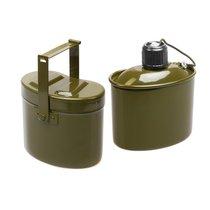Набор посуды армейский Helios алюминий HS-NP 020031-00 - Тонар