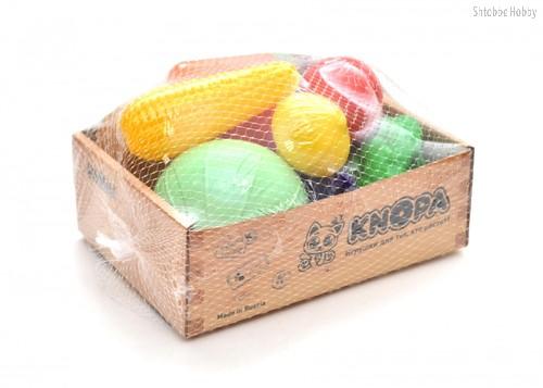 """Игровой набор KNOPA 87049 Большой ящик """"Овощи"""" - Knopa"""