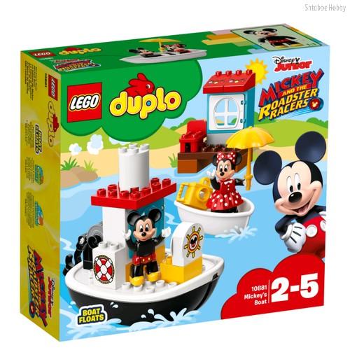 Конструктор Duplo Disney TM Катер Микки - Lego