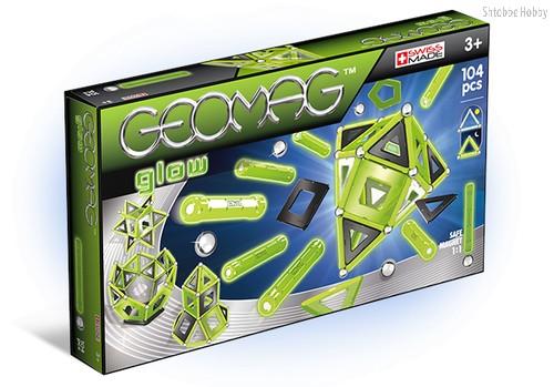 Магнитный конструктор GEOMAG 337 Glow 104 детали - Geomag