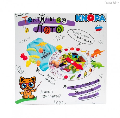 Лото KNOPA 87064 тактильное - Knopa