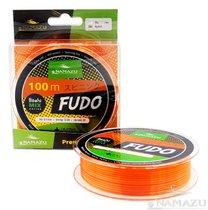 Леска Namazu Fudo, 100 м, 0,2 мм, до 3,75 кг, оранжево-желтая NF100-0,2 - Namazu