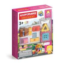Магнитный конструктор MAGFORMERS 705009 Maggy's House Set - Magformers