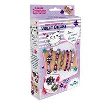 Набор для творчества ORIGAMI 05887 Пять браслетов. Violet Dreams - Origami