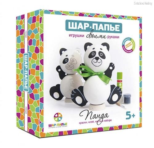 Набор для творчества ШАР-ПАПЬЕ В01761 Панда - Шар-Папье