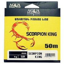 Леска YGK Scorpion King 2.0 / 0,233мм 50м (4,81 кг) прозрачная 1813352 - YGK