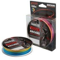 Леска плетеная Akkoi Mask Arcane X4 0,28мм 200м Multicolor MA4MC/200-0,28 - Akkoi
