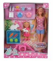 Кукла STEFFI 5732156029 и Еви с кроликами - STEFFI